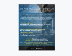 MAS Marine Biodiversity & Conservation Program